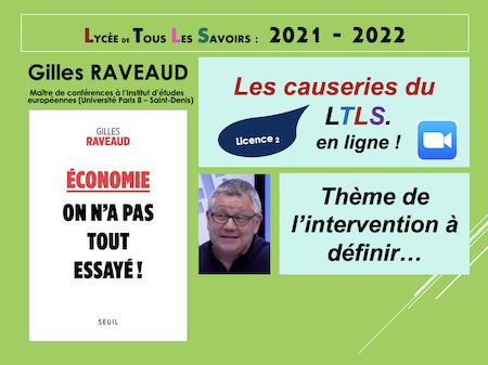 LTLS Gilles Raveaud