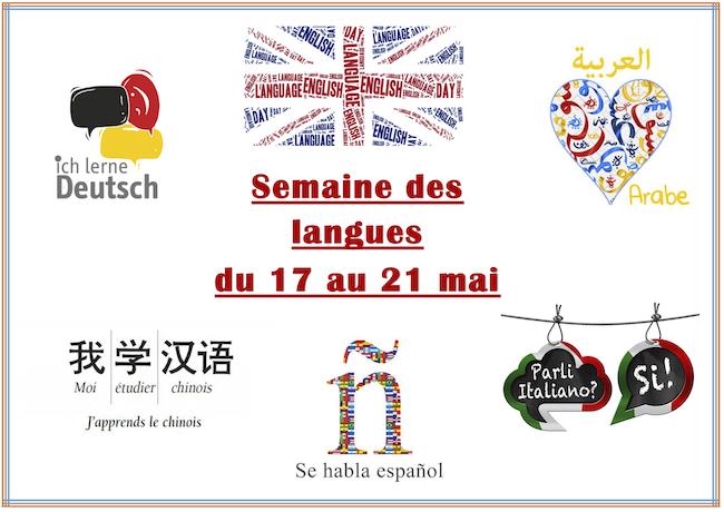 Semaine des langues De Baudre 2021